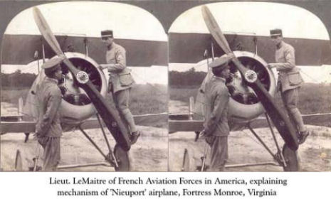 3-D WWI airplanes