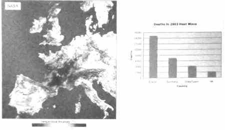 European temperature anomaly August 2003