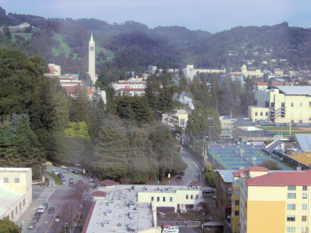 View of Cal Berkeley Campus.