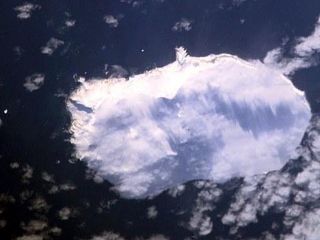 Bouvet Island vertical shot