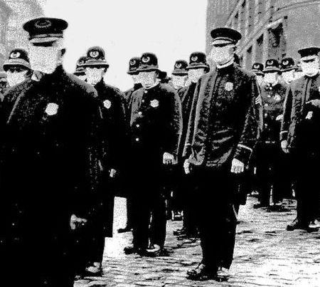 Flu 1918-19 police