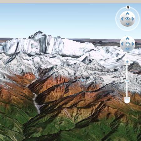 Google Earth Mt Everest
