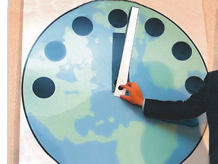 Doomsday Clock past Midnight