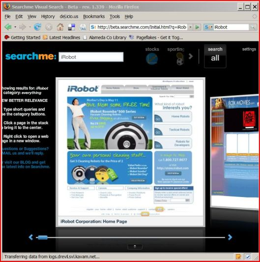 Search SearchMe
