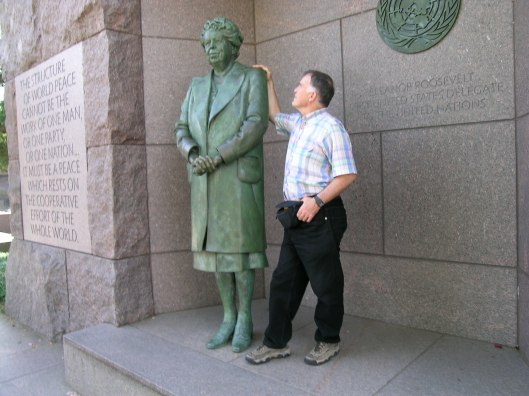 Eleanor Roosevelt and Charles Scamahorn