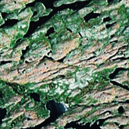Cracks in Canada at 56.8165 -76.0815