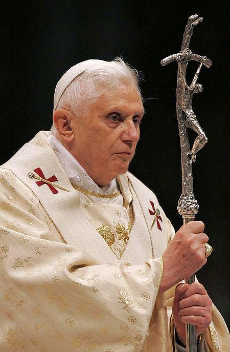 Pope Benedict XVI at 2008 Xmas mass