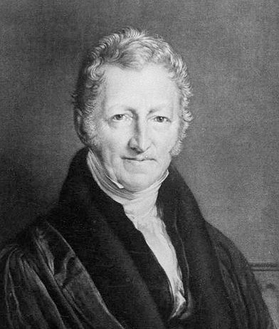 Thomas Malthus, the father of population studies.