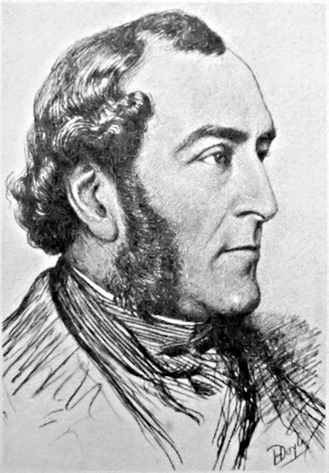 John Doyle (HB) drawn by son Henry