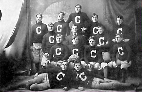 Glen Maurice Eidemiller and the 1909 Covington OH  (top #4 from left)