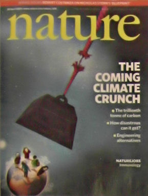 Nature Magazine #7242 30 April 2009 Illustrates the coming climate crunch