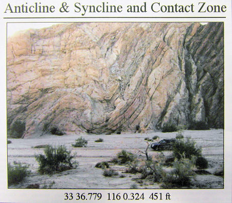 A location along the San Andreas Fault