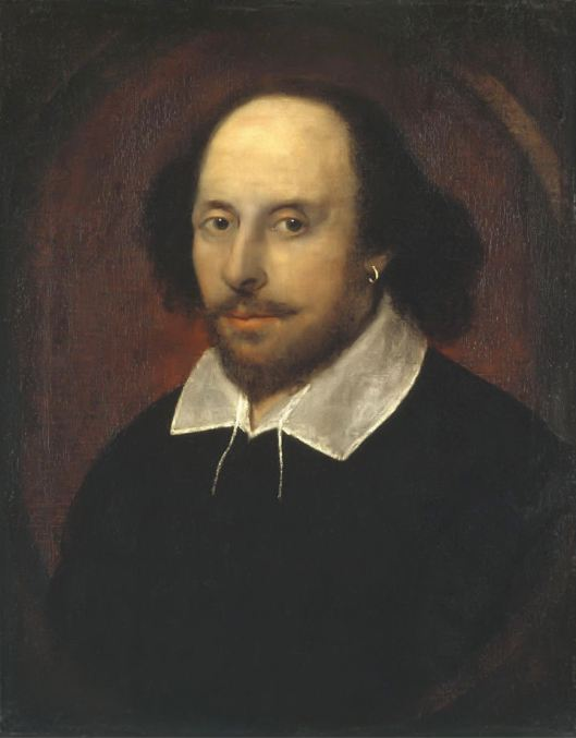 William Shakespeare by Chandos - National Portrait Gallery, London