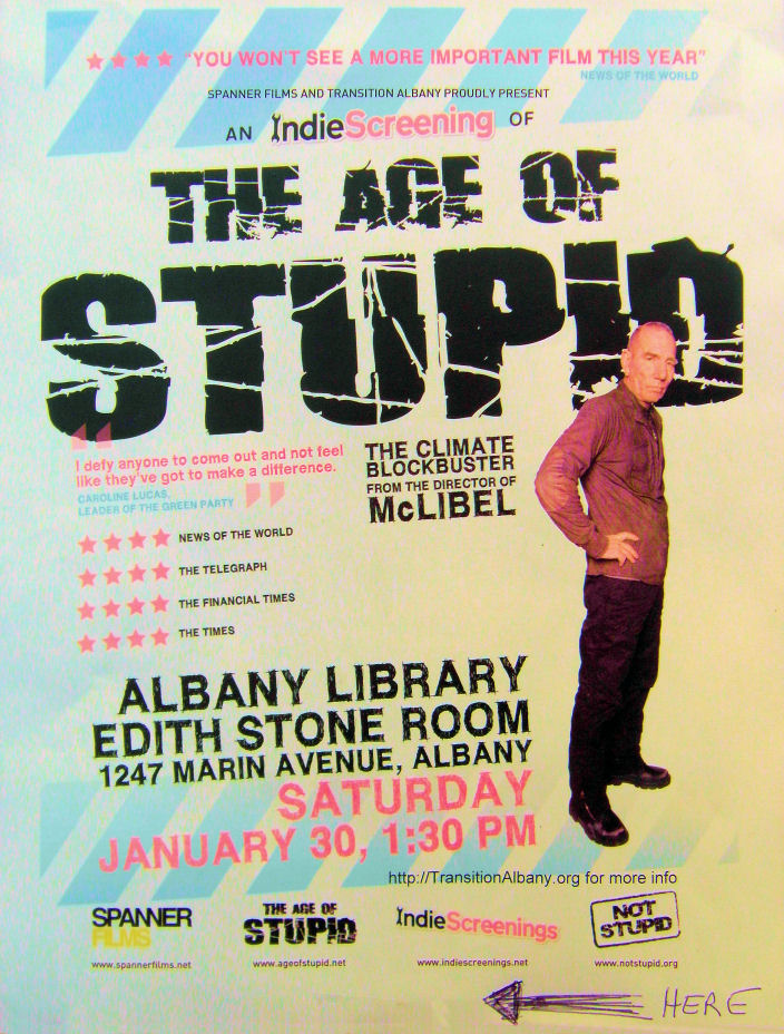 age of stupid review The age of stupid review by gordon a - i liked the format that its a guy in the future looking at documentary footage in the past (our present) that.
