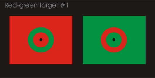 Red-green target #1