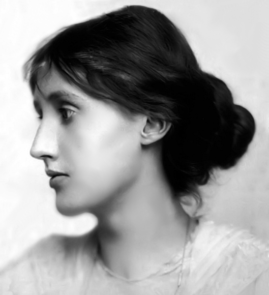 Virginia Woolf from cover of A Writer's Deary