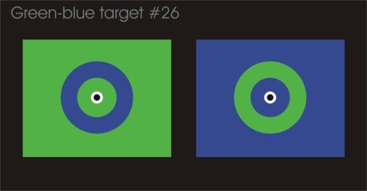 Green-blue target #26