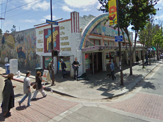 Google Earth street view of 2400 Telegraph Avenue Berkeley