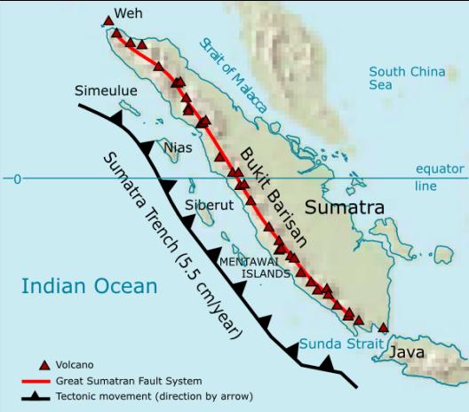 Mt. Toba in Sumatra
