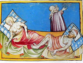 Bubonic plague called The Black Death