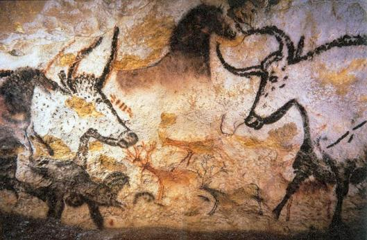 Lascaux paintings of bulls