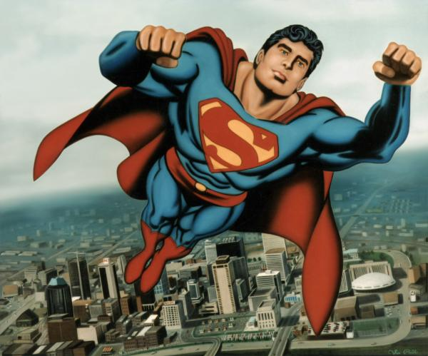 Image result for superman taking off for flight