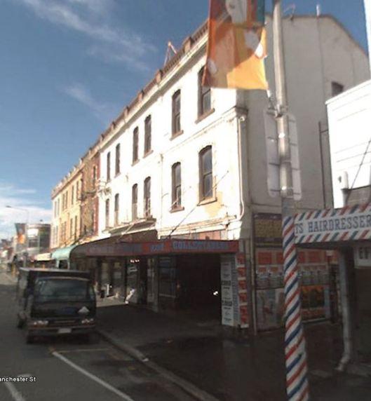 Christchurch quake damage 115 Manchester st