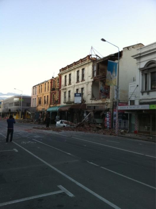 Christchurch NZ quake damage