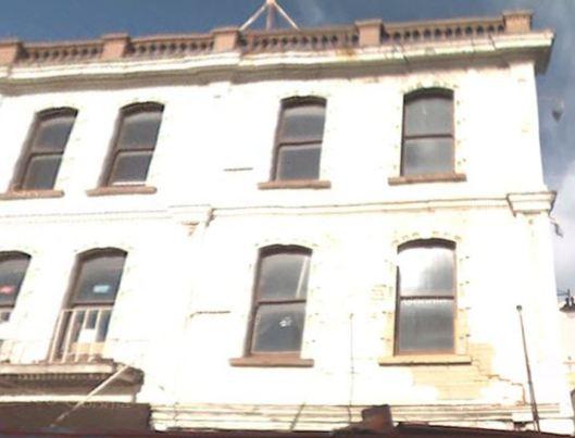Christchurch 115 Manchester st, quake damaged building