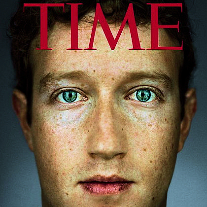 Mark Zuckerberg is TIME's Person of the Year 2010