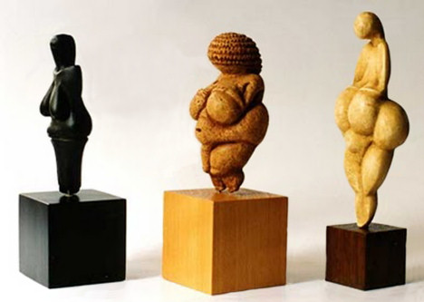 Venus's Dolni_Willendorf_Lespugue