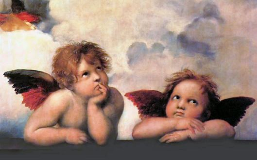 Cherubs by Michaelangelo