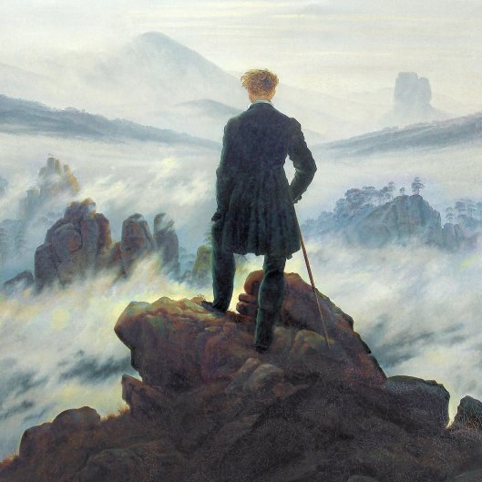 Caspar David Friedrich - Wanderer squared
