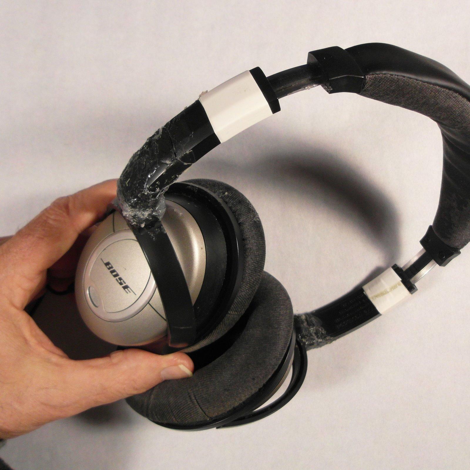 Broken Bose headphones