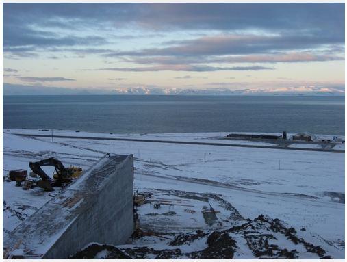 Svalbard vault and Svalbard air terminal
