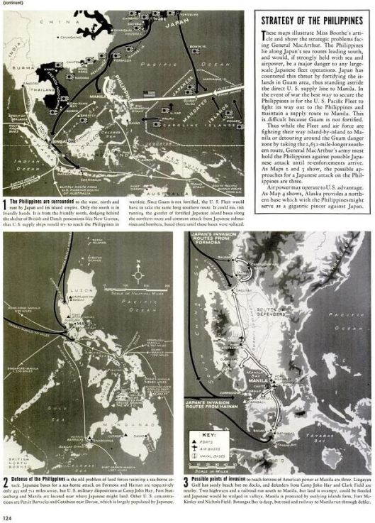 LIFE Dec 8th 1941 showing Japanese plans