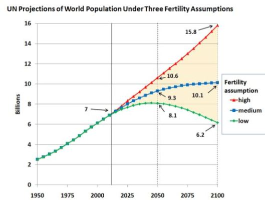 United Nations World Population Projection