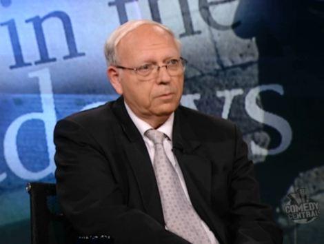 Efraim Halevy interview Jon Stewart 2006