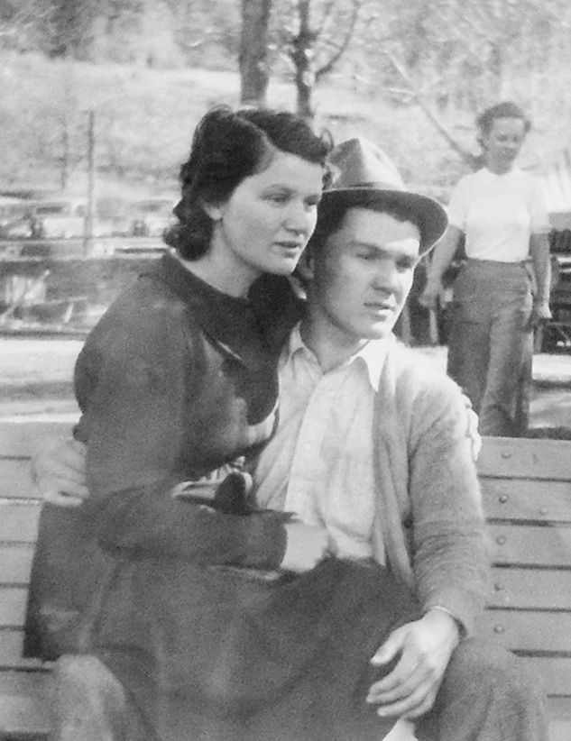George and Mary Scamahorn