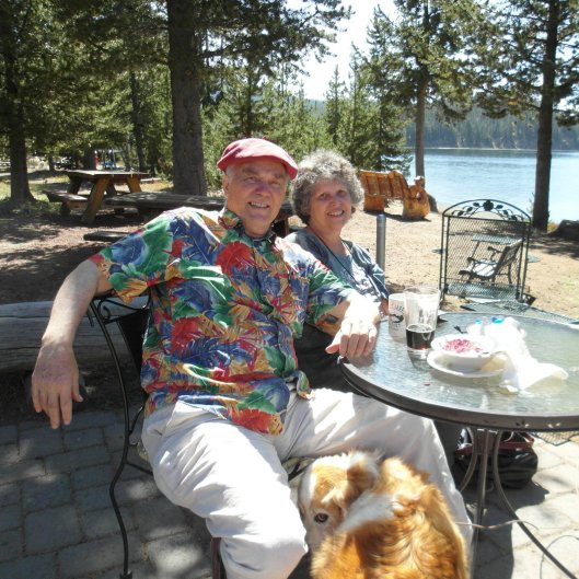 Charles Scamahorn at East Paulina Lake Oregon