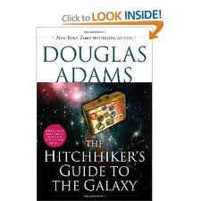 a review of douglas adams hitchhikers guide to the galaxy Find helpful customer reviews and review ratings for hitchhiker's guide to the galaxy 5 book box set [paperback] by douglas adams at amazoncom read honest and.