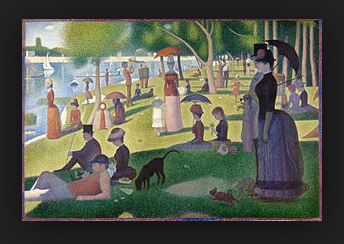Georges Seurat - A Sunday Afternoon