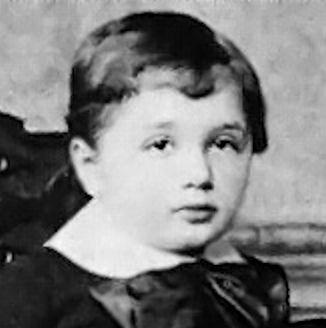 Albert_Einstein age 3