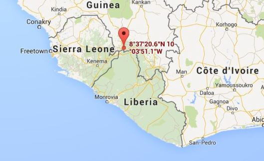 Site of the first Ebola victim.
