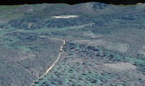 Meliandou simulated aerial view