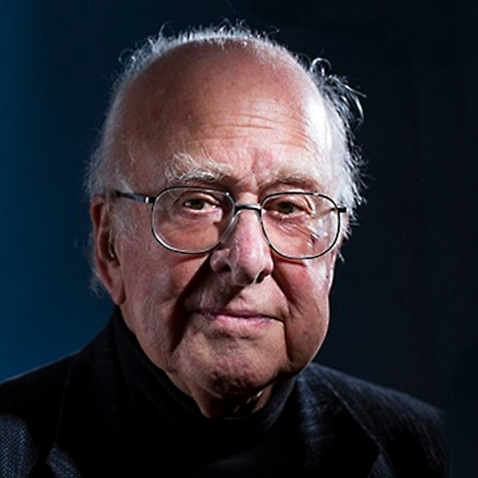 Photo of Peter Higgs