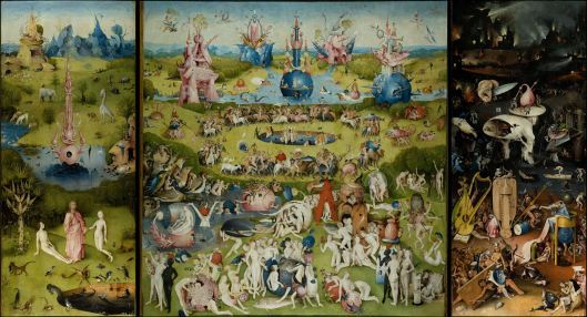 The Garden of Earthly Delights by Hieronymus Bosch, Dutch painter