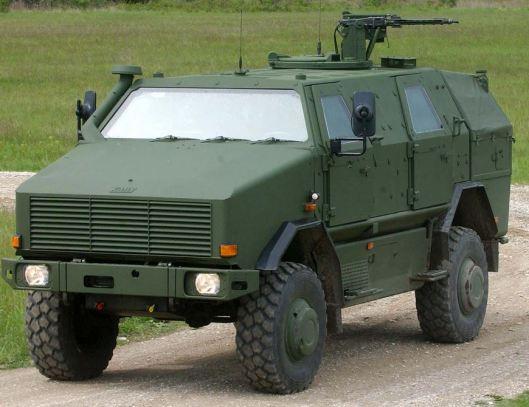 German combat vehicle Dingo