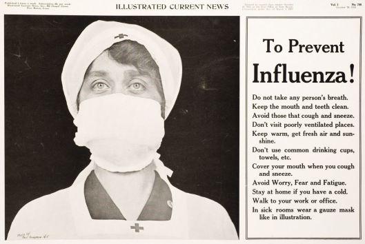 Prevent Influenza 1918 poster