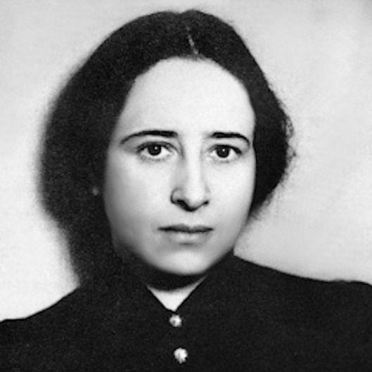 Hannah Arendt German/American philosopher